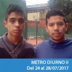 Metro DIURNO II - Semana 2