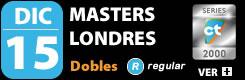 Masters de Londres Dobles