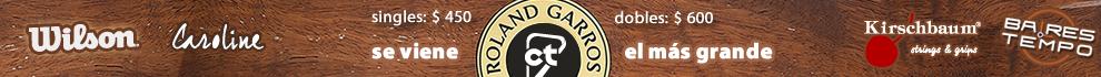 Roland Garros con los Mejores Premios