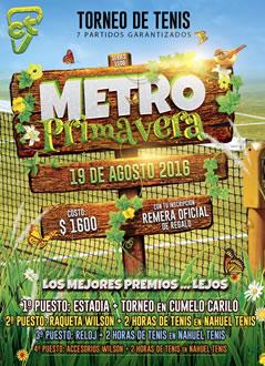 Metro: 7 Partidos y Los Mejores Premios
