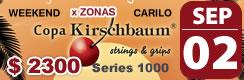02 SEP - Copa Kirschbaum - Carilo | 3D $ 2300