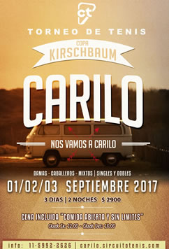Carilo - SEP 1,2 y 3