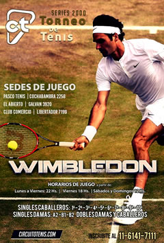Wimbledon en CircuitoTenis