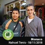Abierto de Monaco - Nahuel Tenis