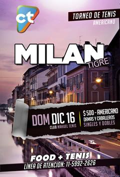Milan en Tigre | Despedimos el 2018