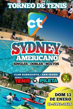 Sydney en San Isidro + Pileta