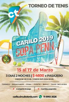Carilo en Marzo - Copa Penn